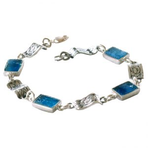Roman Glass Jewelry Designer Bracelet