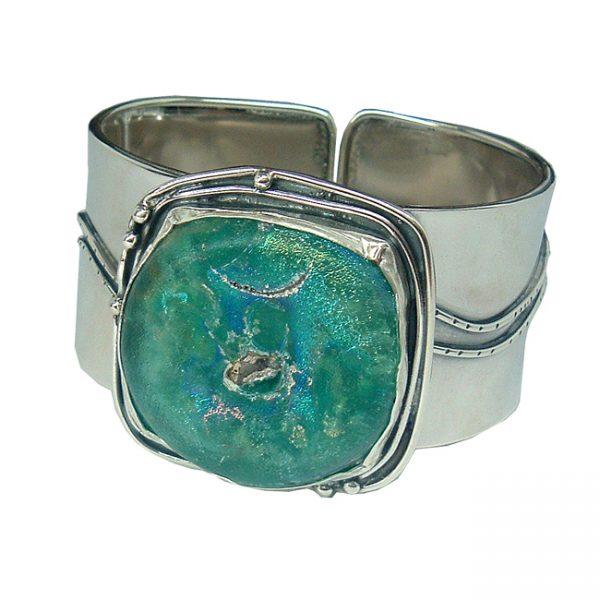 Roman Glass Jewelry Handmade One of A Kind Designer Bracelet
