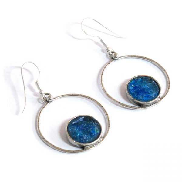 Roman GlassHandmade Roman Glass Jewelry 925 Sterling silver Earrings Jewelry Sterling Silver Designer Earrings