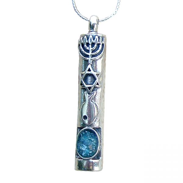 Grafted in Jewelry Mezuzah