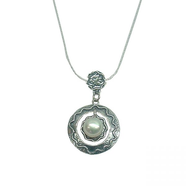Handmade Silver Jewelry with Pearls 925 Sterling silver Jewelry